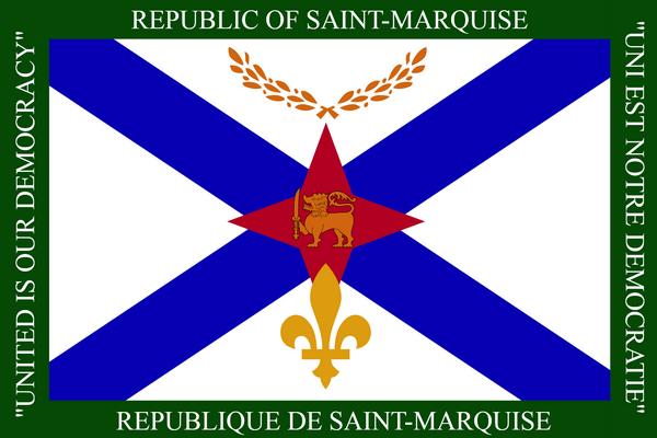 flag of saint-marquise